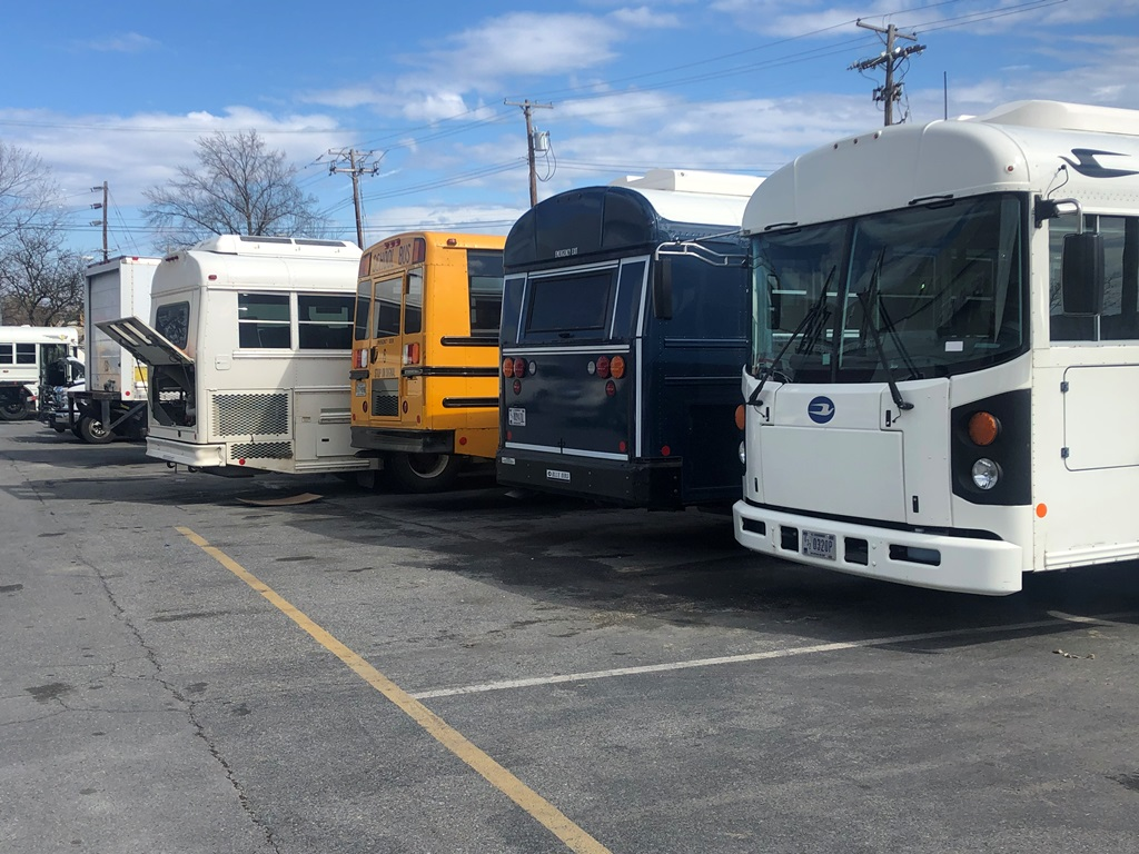 DMV Box Truck Repair Auto Body Shop Maryland